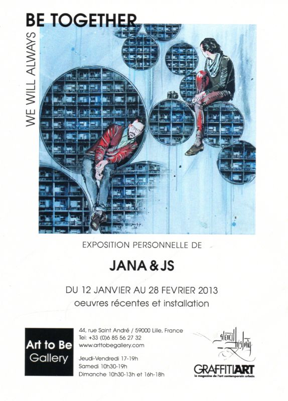 Jana & Js - We will always b together - expo Lille