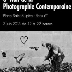 Invitation à la Nuit de la Photo Lundi 3 juin de 12 à 22 h place Saint Sulpice