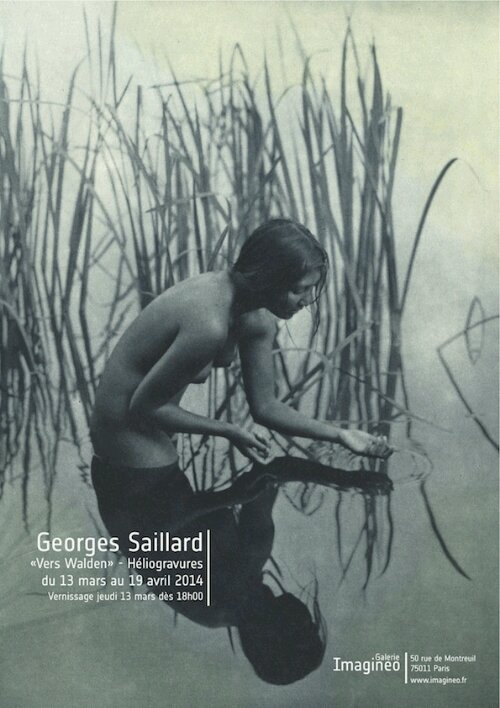 Georges Saillard   » Vers Walden  » galerie Imagineo 13mars 19 avril