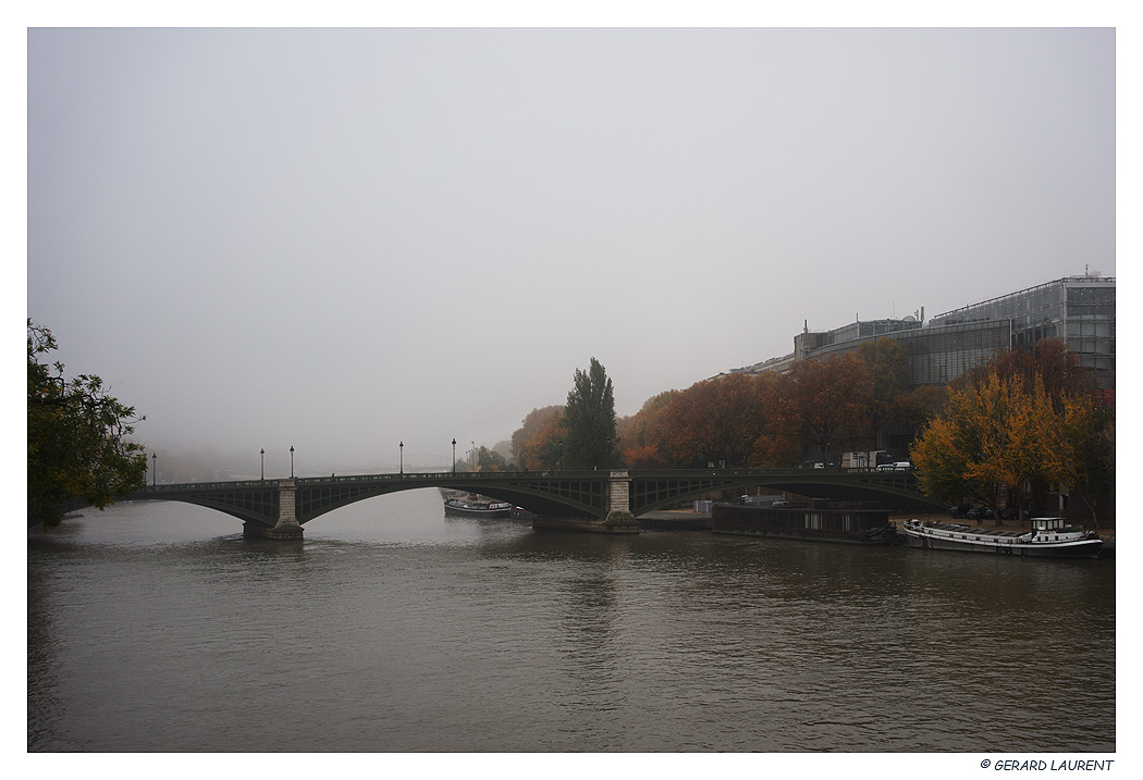 Today's pictures : Brouillard sur Paris