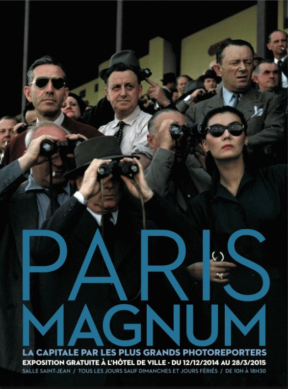 Paris Magnum hotel de ville Paris to 28 mars 2015