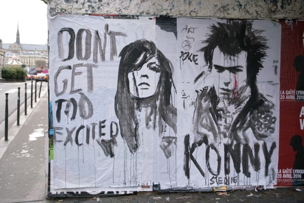Konny Steding - Don't get too exited, Art is a joke
