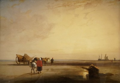 Plage de sable en Normandie 1825 - Richard Parkes Bonington
