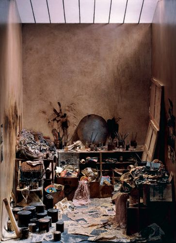 Charles Matton L'Atelier de Francis Bacon, 1986. Boîte (matériaux divers). Collection particulière. Photo Charles Matton © Adagp, Paris 2016