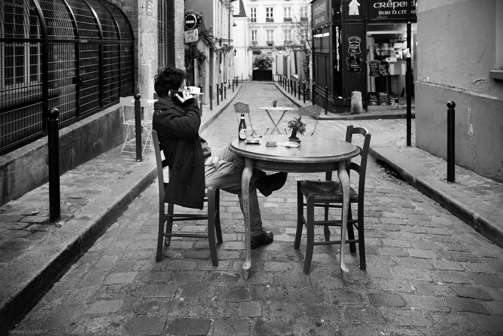 Today's picture : terrasse rue André Antoine