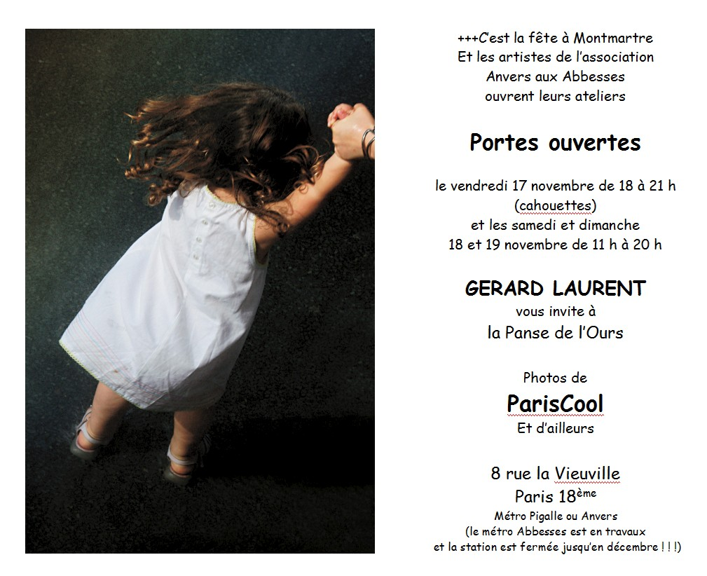 Gérard Laurent – Photographies -Portes Ouvertes 2006