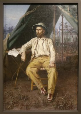 Portait de l'explorateur Emile Gentil - 1899 - Paul Merwart
