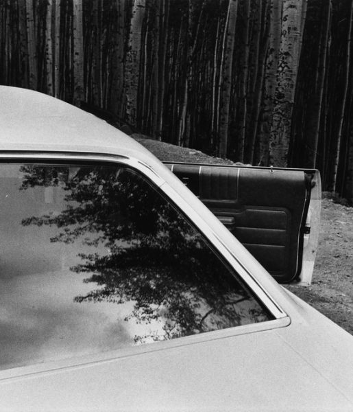 Charles Harbutt Car, Aspen, Colorado, 1971 © Charles Harbutt / Courtesy of Peter Fetterman Gallery