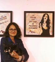 Miss Tic - Expo Collective Galerie Brugier Rigail